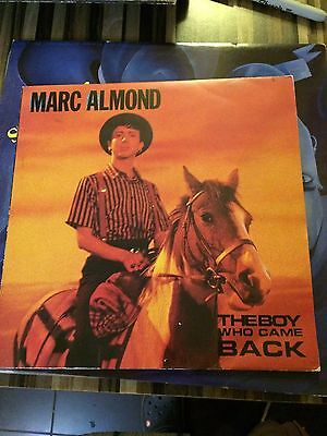 """Marc Almond - The Boy Who Came Back + Inner Sleeve 10"""" Single"""