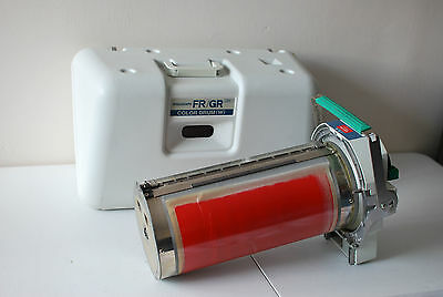 Riso Risograph FR/GR Color Drum (W) BRIGHT RED  with Case  UNTESTED Used