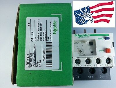 New Schneider Thermal Overload Relay LRD14C 7-10Amp