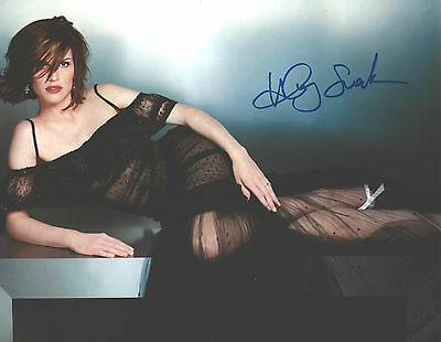"""Hand-Signed Photograph of Hilary Swank 10""""x8"""" with COA"""