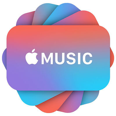 Apple Music Subscription (3 months)
