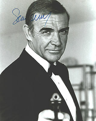 """Hand-Signed Photograph of Sean Connery 10""""x8"""" with COA"""