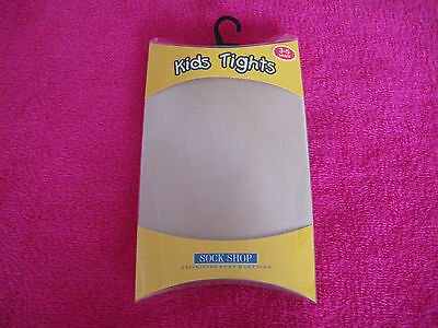 Tights Girls Opaque Age 3 / 4 Years New  Sock Shop
