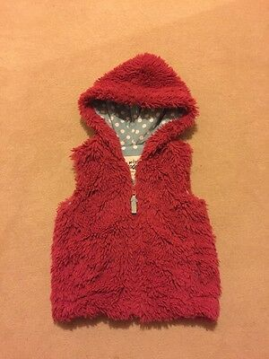 Boden Girls Fur Soft Gilet