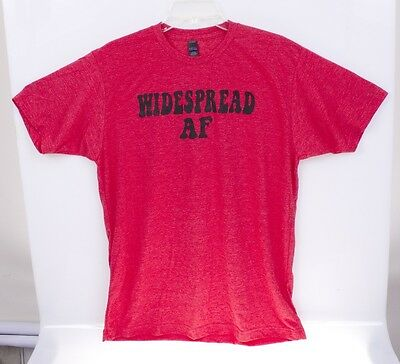 "WIDESPREAD ""AS F*CK"" AF Widespread Panic T-Shirt SM - XXL NEW WSP"