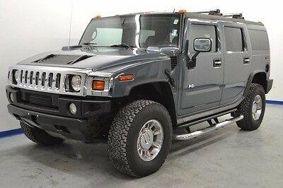 2005 Hummer H2 Base Sport Utility 4-Door CLEAN CAR FAX NAVIGATION SUNROOF LEATHER HEATED SEATS