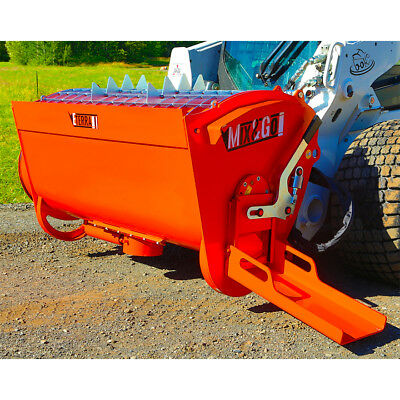 Cement Mixer for Bobcat Style Skid Steer Loaders - BMX 250 Mix and Go