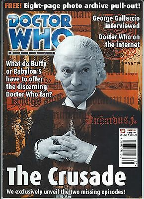 Doctor Who Magazine Number #280 28 July 1999 Marvel Magazines Good Condition