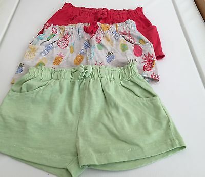 Next Baby Shorts (3) - Age 12 To 18 Months