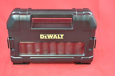 "DEWALT 10pc 1/2"" Drive Impact Ready Socket Set DW22812"
