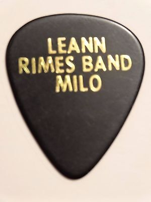 Leann Rimes Concert Tour Guitar Pick (Country Pop Hard Rock Band)