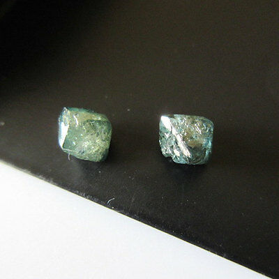 Rare Raw Blue Smooth Crystal Wholesale Rough Uncut Loose Diamond 5mm-6mm DDS137