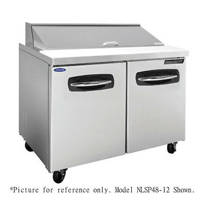 """Norlake NLSP48-12-002 48.25"""" Sandwich/Salad Refrigerated Counter- Door/Drawers"""