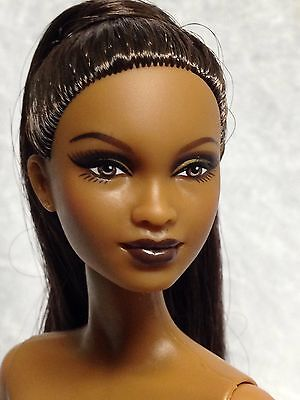 Nude Collector Edition Barbie Doll Mbili Face Model Muse AA