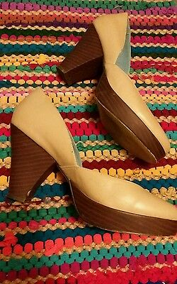 40s style shoes size 6 Goodwood festival