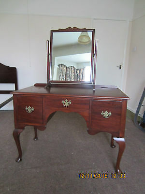 Vintage Dressing Table with matching mirror