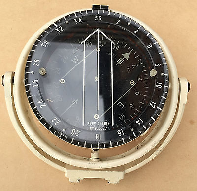 VINTAGE BOAT COMPASS MARINE SESTREL HB & Sons LONDON GIMBAL MOUNTED