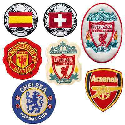 Football - Sew Embroidery Iron On Patch Badge Clothes Fabric Applique