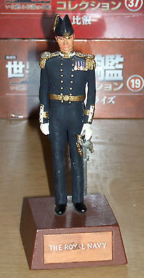 Sentry Box Military Figure Officer Of The Royal Navy  As In The Picture