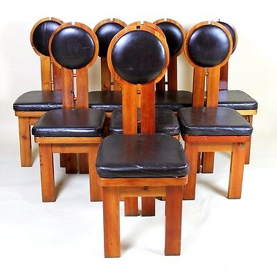 Vintage Retro 1960' Hungarian Design Studio Chairs  8 Available