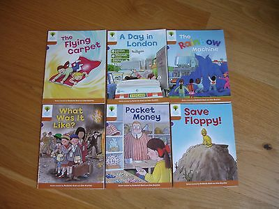 OXFORD READING TREE STAGE 8 STORIES x 6 BOOKS CHIP BIFF & KIPPER