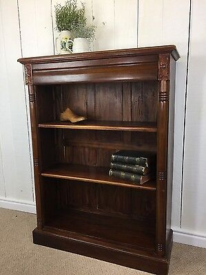 Elegant Solid wood Bookcase, book shelf, rustic, country, farmhouse, traditional