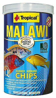 Tropical MALAWI CHIPS Food for Malawi cichlids of the mbuna group