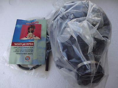ISRAEL  NEW ( unused ) 1997 PROTECTIVE KIT GAS MASK for ADULT