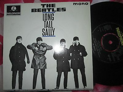 The Beatles ‎– Long Tall Sally  Parlophone GEP 8913  Mono UK 7inch Vinyl Single