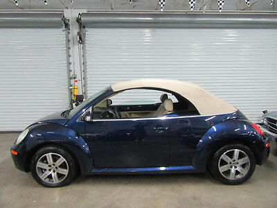 2006 Volkswagen Beetle-New 2dr 2.5L Automatic 1 OWNER 62000 MILES FLORIDA MIDNIGHT BLUE TAN INTERIOR NEW TIRES NON SMOKER CAR