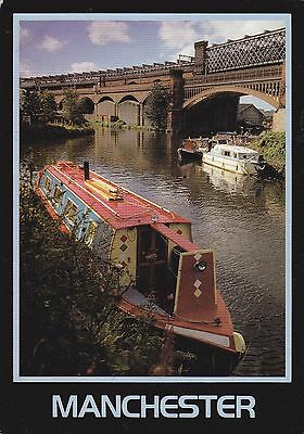 Canal At Castlefield (Bridgewater) Colour Postcard