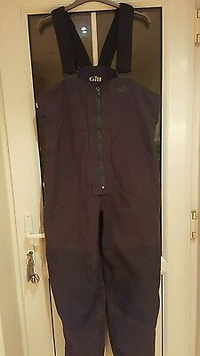 Gill mens cruise sailing trousers navy size M