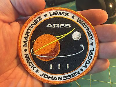 The Martian: ARES III Mission Patch NEW DESIGN!