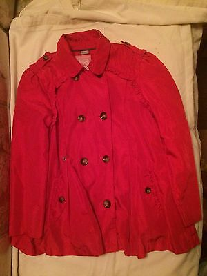 Girls Mayoral Red Coat