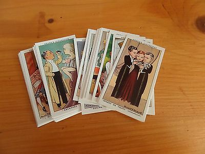Pack Of 25 Reproduction Ogden's Cigarette Cards - Shots From The Films