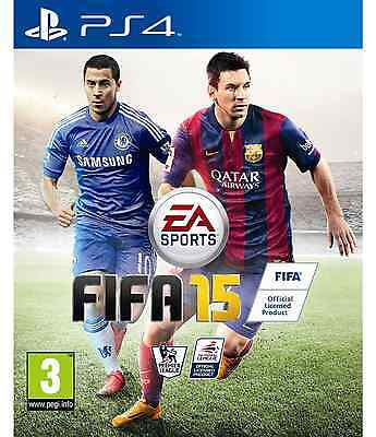 NEW SEALED OFFICIAL 2015 Fifa 15 Sony Playstation PS4 Game Football PAL