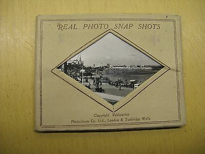 Morecambe Real Photo Snapshots - Vintage Images X 12 Photochrom 1930's / 40's