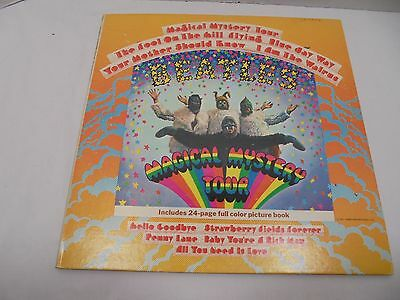 The Beatles Magical Tour Vynal Album SMAL-2835 Includes 24 page Picture Book '67
