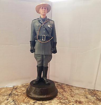 Custom made hand painted 1930s New York State Police Trooper figure