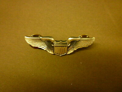 Usaf - Us Army Air Force - Usaaf Pilot Wing - Shirt Size - Ww2