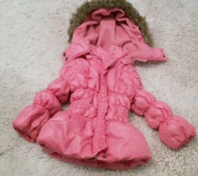 Baby girls pink jacket age6/12 months