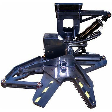 TB-1000 Skid Steer Tree Shear Attachment for Bobcat, Kubota, and More!