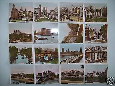 R & J HILL VIEWS OF INTEREST 1st SERIES OF 48 COLOURED REAL PHOTOGRAPHS