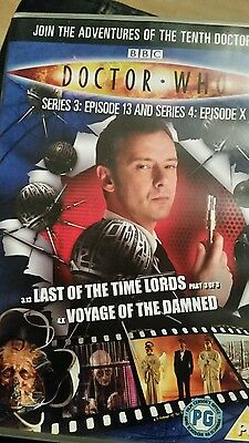 dr who last of the time Lords part 3/voyage of the damned dvd (dvd files #21)