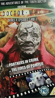 dr who partners in crime/the fires of pompeii dvd (dvd files # 22)