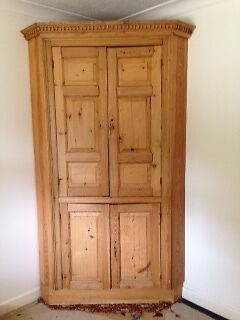 Antique Pine Corn cabinet