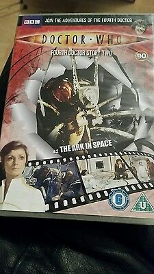 dr who the ark in space dvd (dvd files 90)
