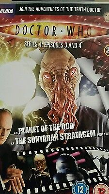 dr who planet of the dead/the sontaran stratagem part 1 dvd (dvd files # 23)