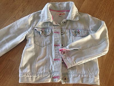 Little Girls Marks And Spencer Dinim Jacket Age 3-4