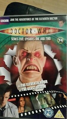 dr who the eleventh hour/the beast below dvd (dvd files # 74)